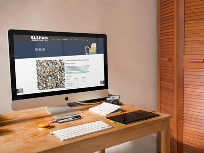 Elsham Aggregates E-Commerce Website Design in Hull Featured Image
