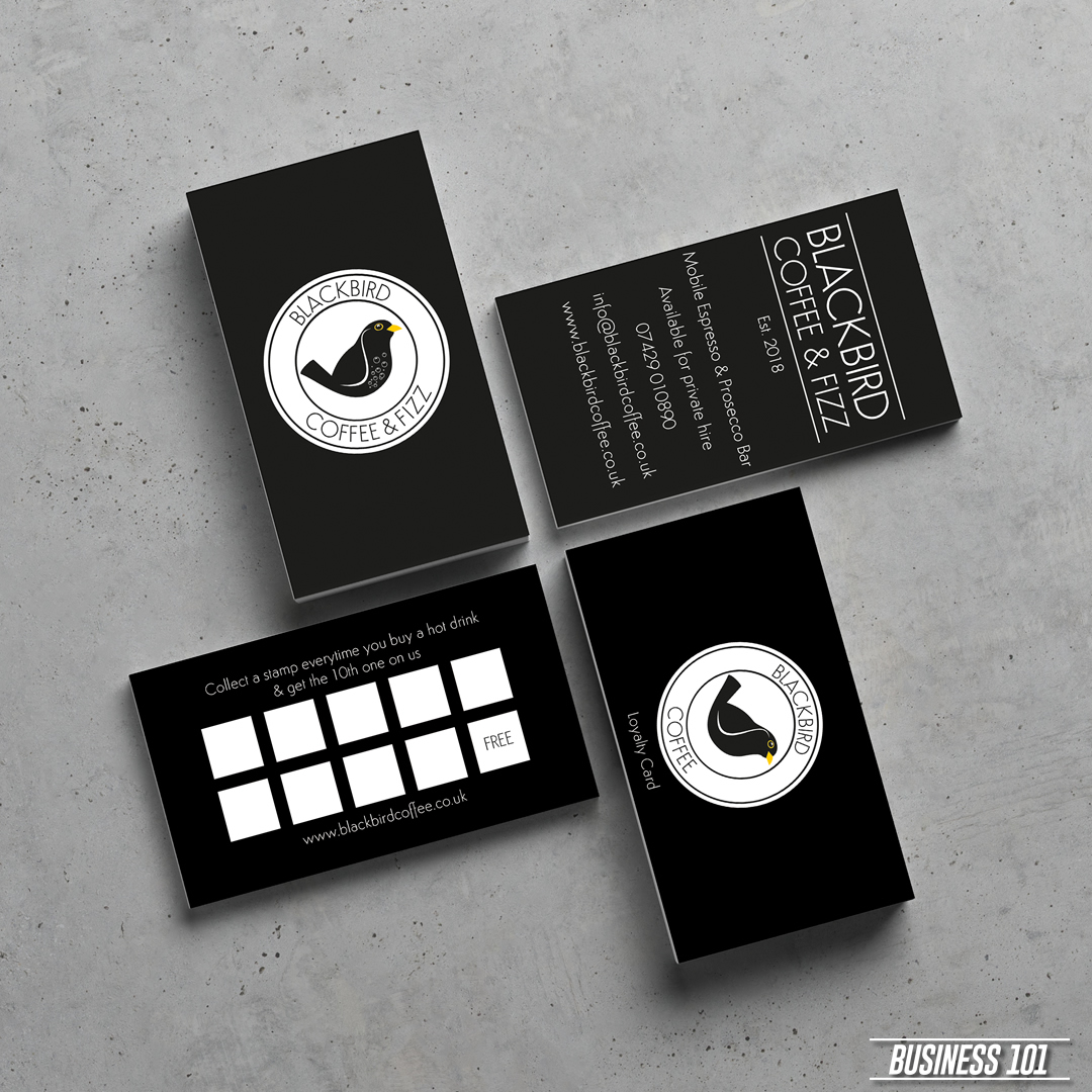 Design & Print - Blackbird Coffee