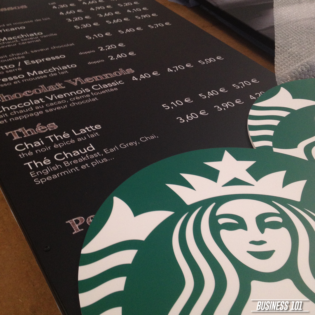 Design & Print in Hull - Starbucks