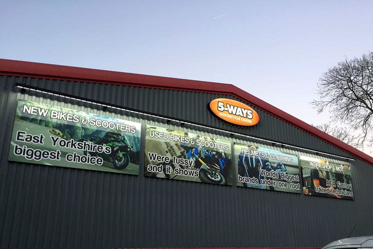 Exterior Signage in Hull Mobile