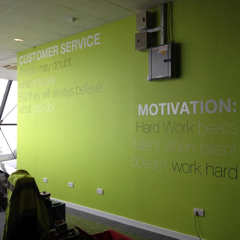 Interior Signage in Hull 2