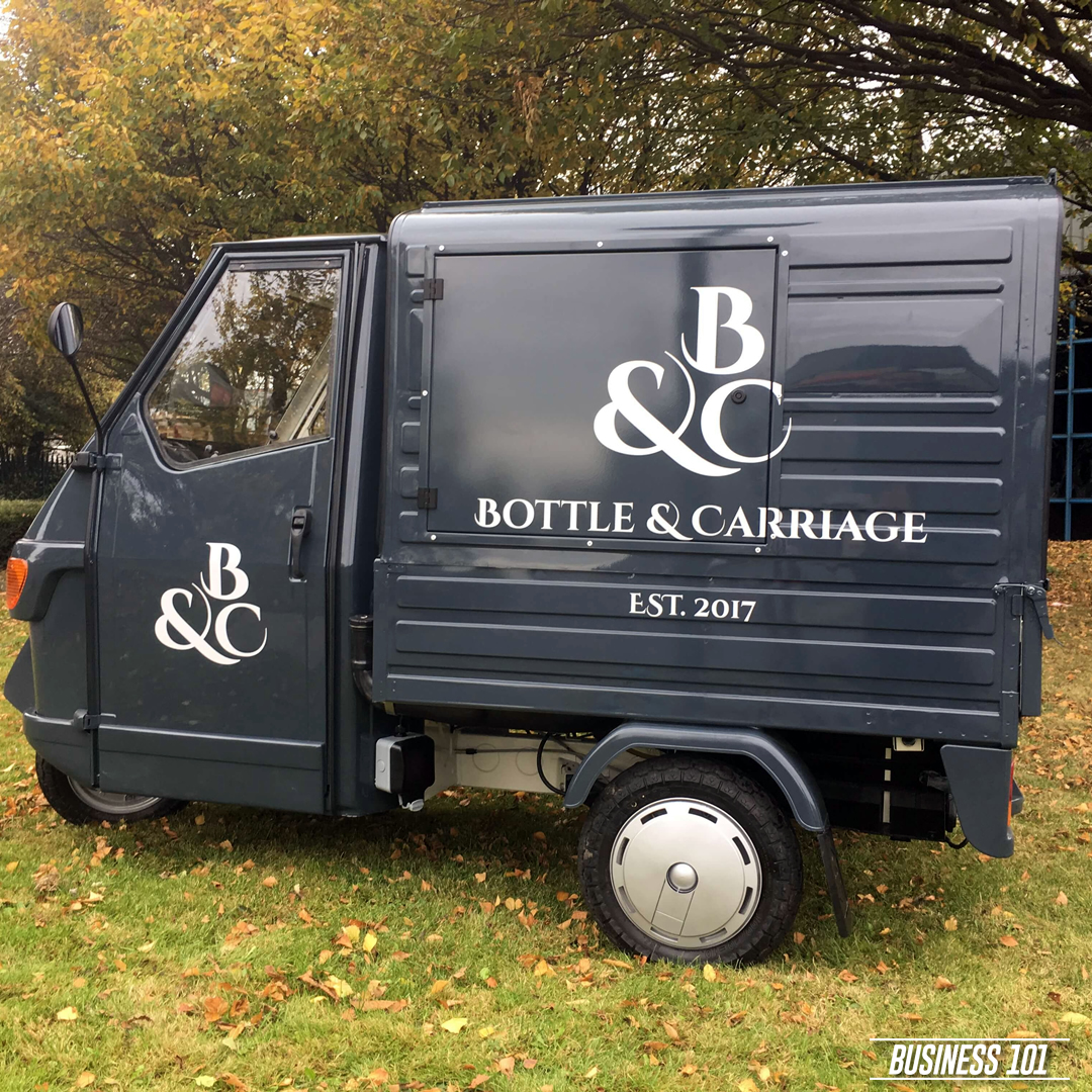 Piaggio Ape in Hull - Bottle & Carriage