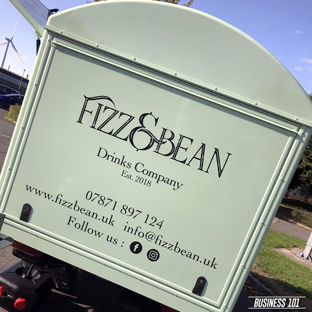 Piaggio Ape in Hull - Fizz & Bean 2