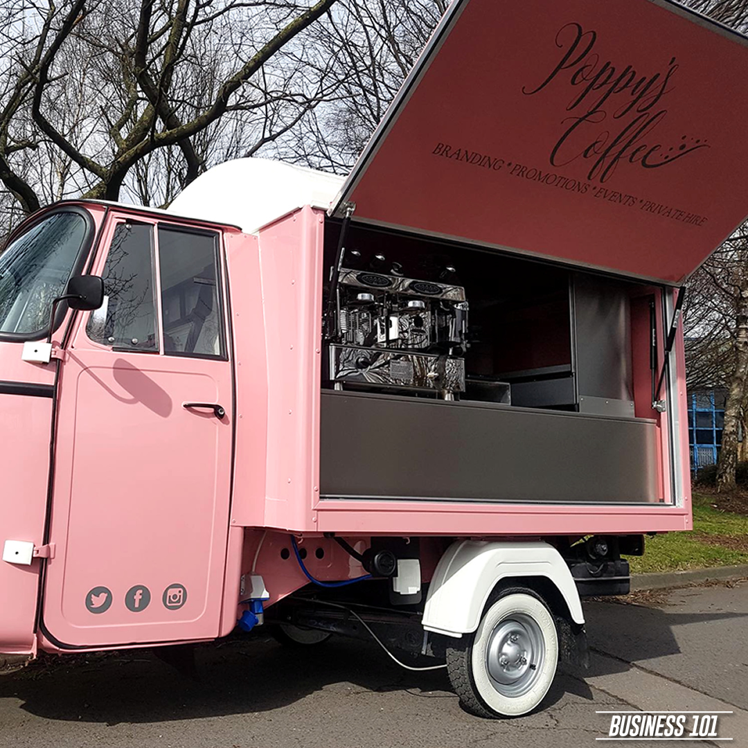 Piaggio Ape in Hull - Poppys Coffee