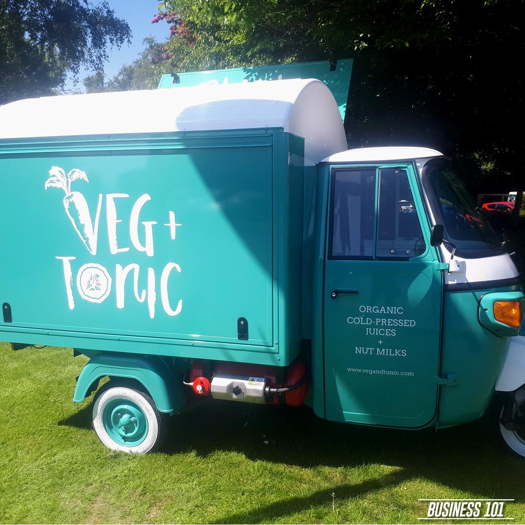 Piaggio Ape in Hull - Veg & Tonic