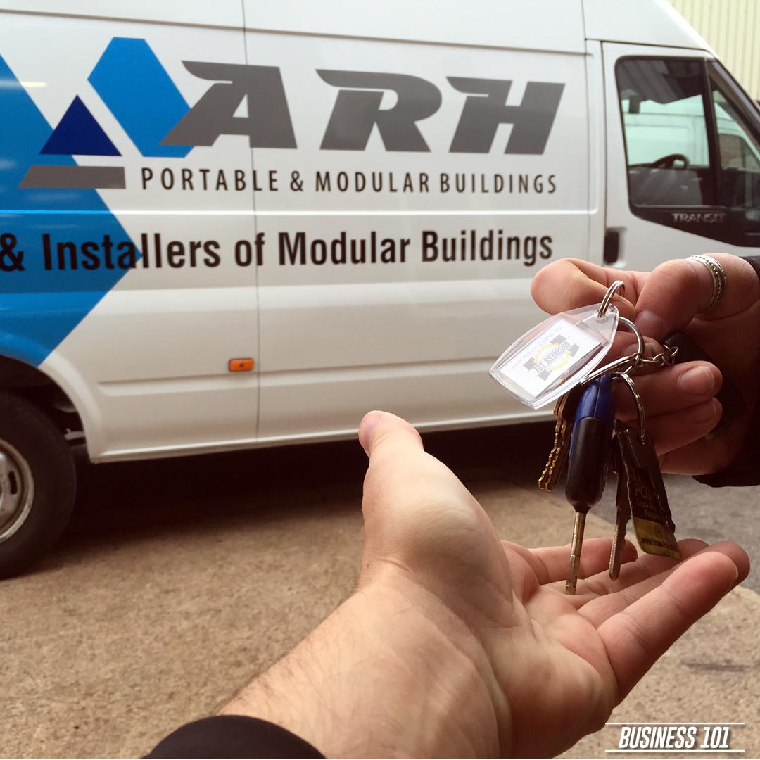 Vehicle Graphcis in Hull - ARH Modular Buildings