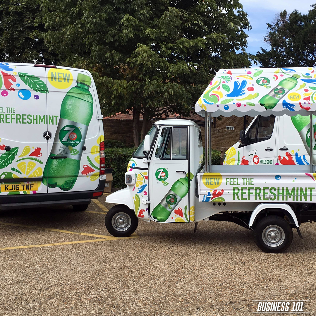 Vehicle Graphics in Hull - 7Up