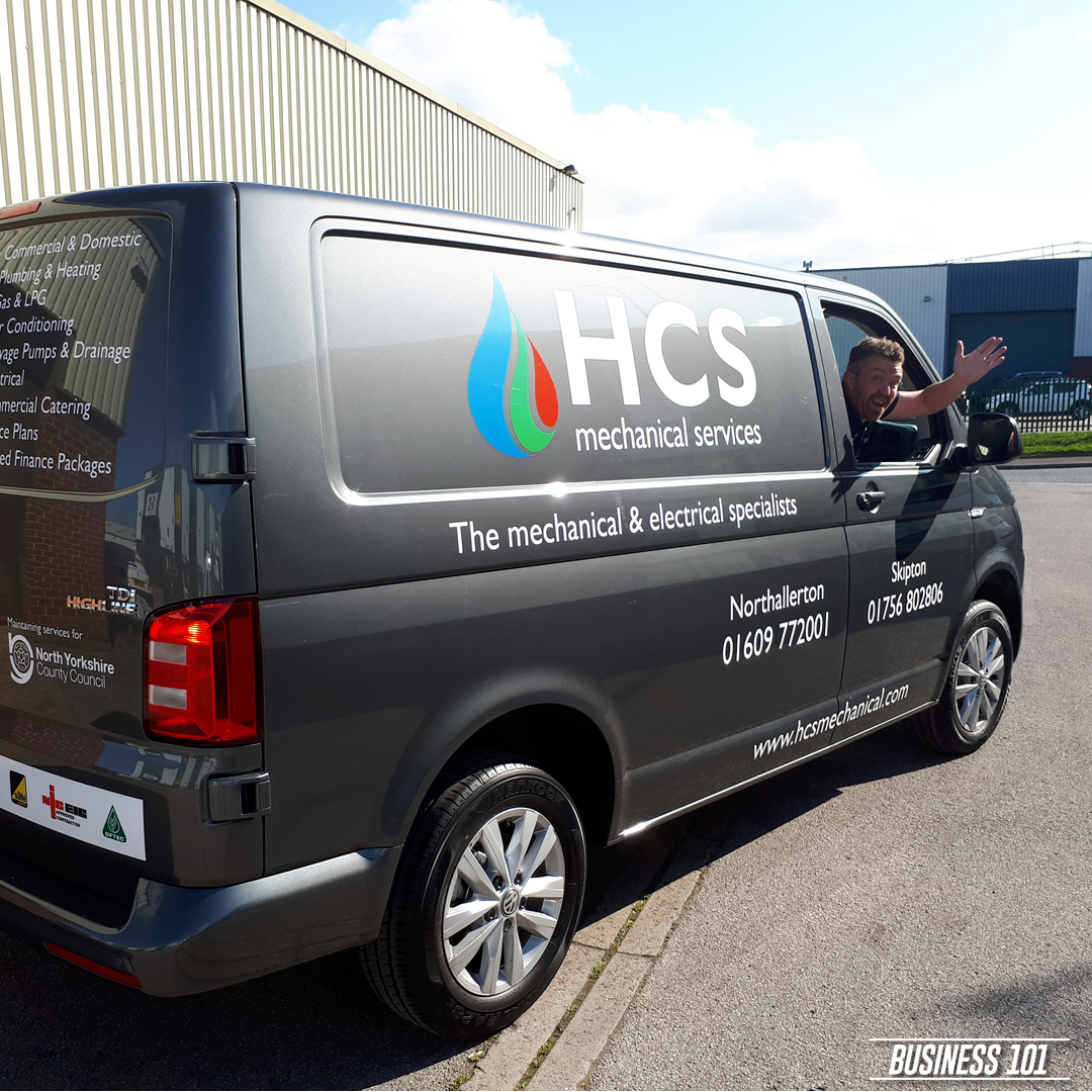 Vehicle Livery in Hull - HCS Group