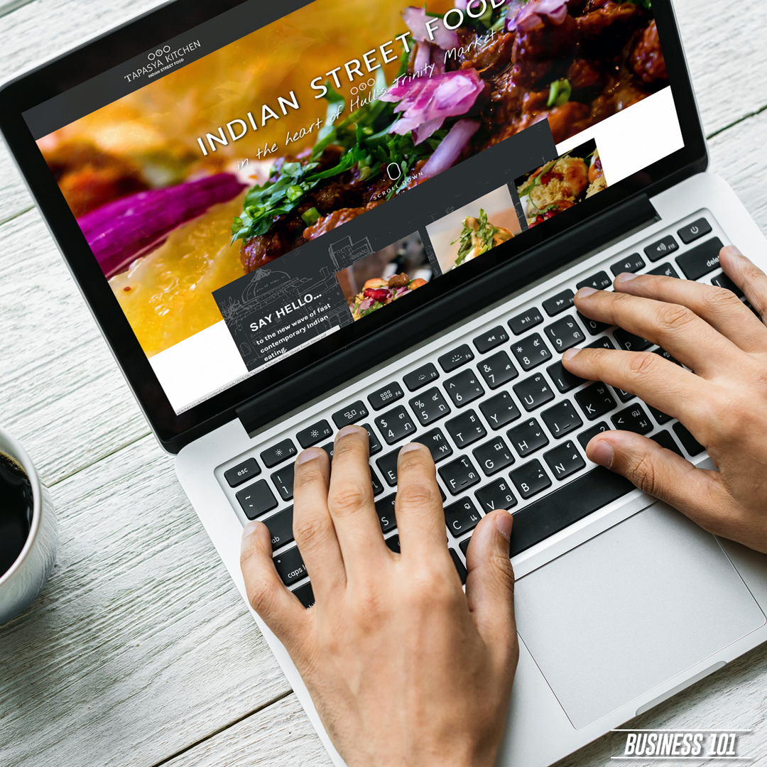 Web Design in Hull - Tapasya Kitchen