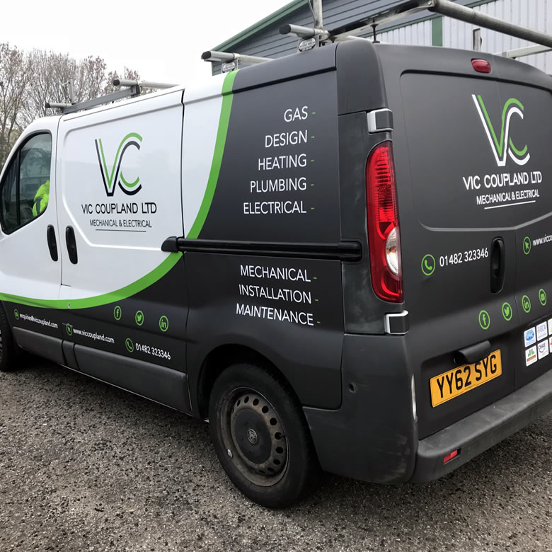 Vehicle Graphics in Hull 6
