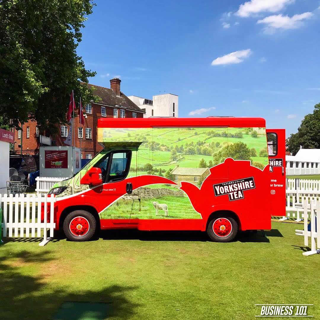 Yorkshire Tea Van