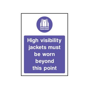 CLOTHING SIGN - MAND0007