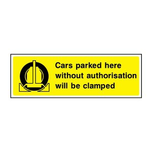 Parking Sign - PARK0004