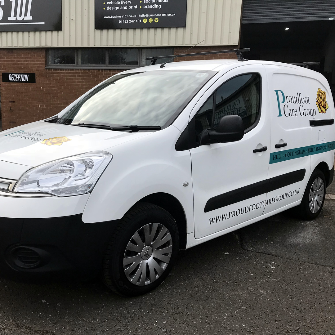 Proudfoot Care Group Van