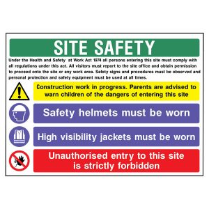 Site Safety - cons0013