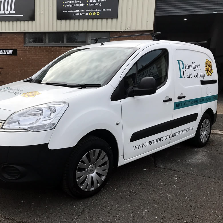 Vehicle Graphics in Hull 12