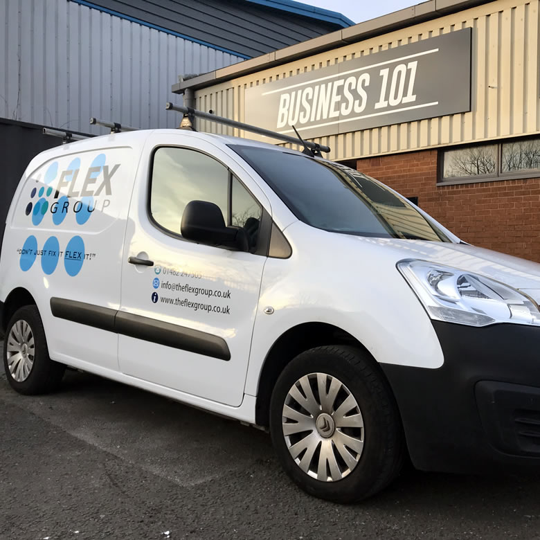 Vehicle Graphics in Hull 9
