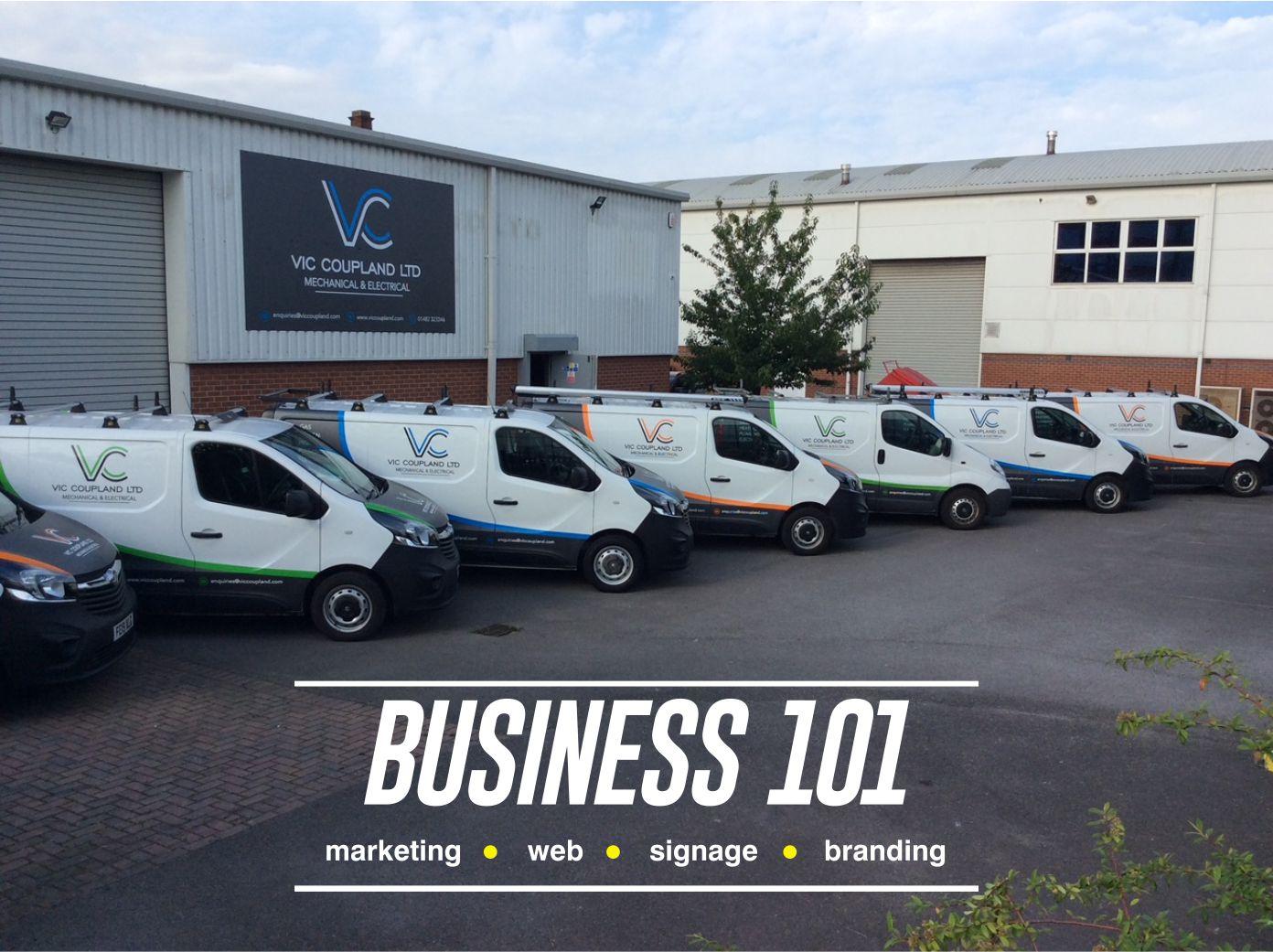 vic coupland fleet + logo